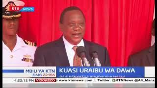 Raisi Uhuru Kenyatta ahudhuria hafla ya kuasi uraibu wa madawa za kulevya