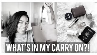 WHAT'S IN MY BAG |  2018 CARRY ON EDITION