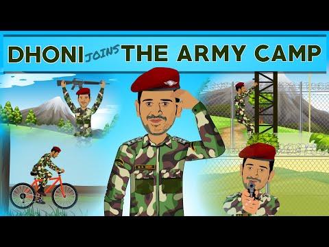Dhoni Ki Army Training Spoof   Kargil Vijay Diwas   Indian Cricket Team