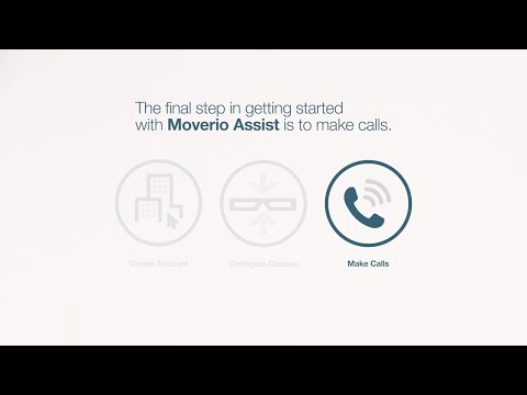 Moverio Assist | How to Make Remote Assistance Calls