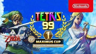 Nintendo Tetris® 99 - 23rd MAXIMUS CUP Gameplay Trailer - Nintendo Switch anuncio