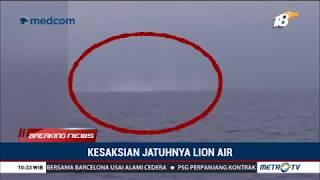 Awak Kapal Tugboat AS Jaya II Saksikan Jatuhnya Lion Air JT610