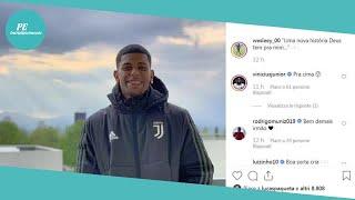 ✅ Juventus, Ecco Wesley Dal Flamengo. Su Instagram La Foto Con L'uniforme