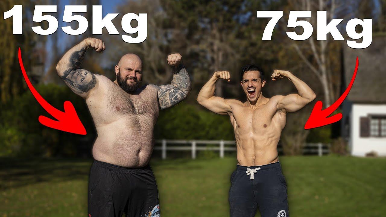 L'incroyable homme le plus fort de France ! (il pèse 155kg)