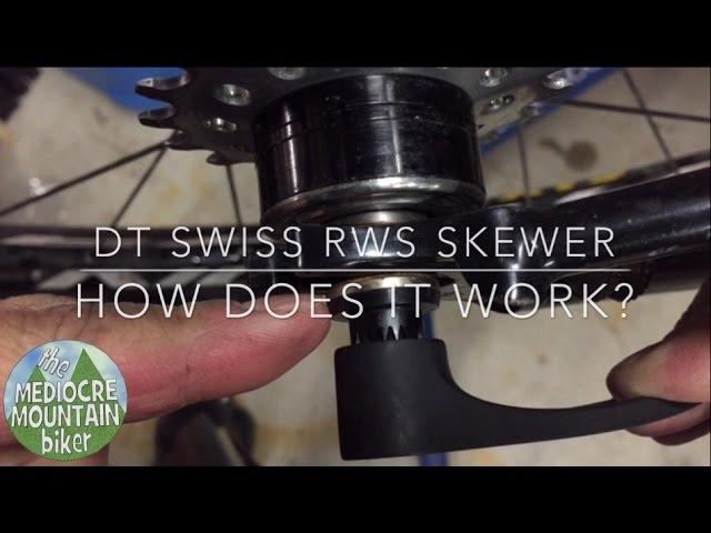Видео Ось задняя DT Swiss RWS MTB 12x142mm Thru-Bolt Rear Wheel Axle