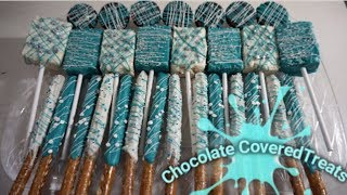 DIY: Chocolate Covered Treats | PARTY IDEAS FAVORS IDEAS  | SWEET TREATS