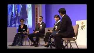東京オリンピックパラリンピックゲストスピーチ成田真由美さん/室伏広治さん2014.1.19