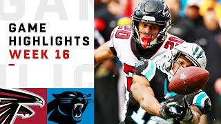 Falcons vs. Panthers Week 16 Highlights | NFL 2018