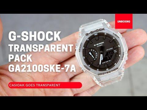 Casio G-Shock Transparent Pack GA2100SKE-7A