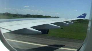 preview picture of video 'Aerolineas Argentinas Airbus A340 - landing at Buenos Aires Ezeiza, Argentina'