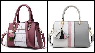New Design Ladies Leather Handbags 2020/ Online Handbag Shopping Ideas - Branded Ladies Handbags