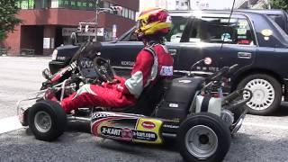 公道を走れるカート「X-Kart」で三田を爆走(並走編)