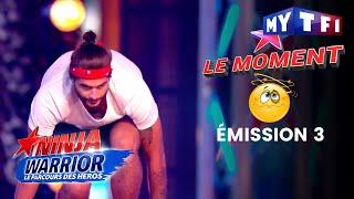 """Benoit (Koh-Lanta) : """"c'est pas comme les poteaux"""" - Ninja Warrior"""