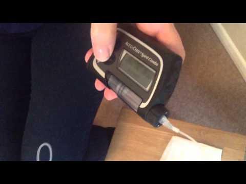 Vídeo de cómo medir el medidor de glucosa de azúcar en sangre