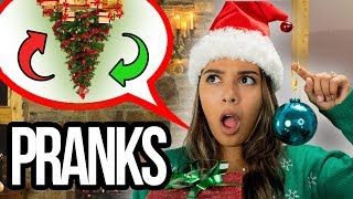 TOP CHRISTMAS PRANKS! *PRANK WARS * Trick Your Siblings, Friends & Family, Brother And Sister!