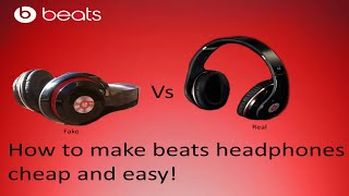 D.I.Y $30 Beats by Dre Headphones Cheap | Are They Better than original? | Looks Like Real Thing!