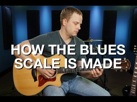 How The Blues Scale Is Made - Blues Guitar Lesson #7