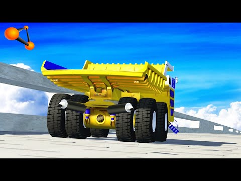 BeamNG Drive High Speed Crazy Jumps Crashes #48 Crashtherapy