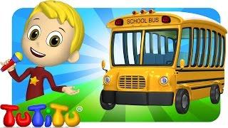 TuTiTu Songs Channel | Bus | Sing Along For Kids