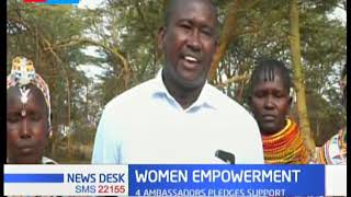 Four ambassadors pledge support for women empowerment in Northern Kenya