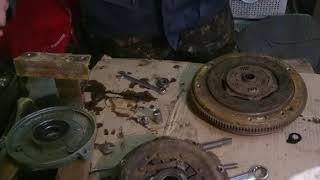Сцепление на минитрактор без токаря