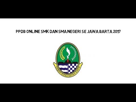 Video PPDB ONLINE SMK DAN SMA SE JAWA BARAT