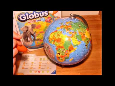 tiptoi Globus - puzzleball - Spieletest