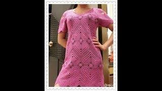 Узоры для Платья Крючком 2017 / Patterns for a Dress with a Hook / Muster für Crochet Kleid