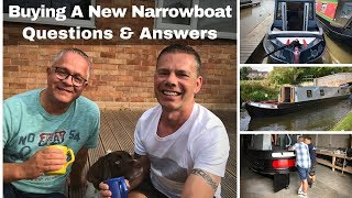 Buying a New Build Narrowboat - Questions & Answers