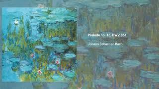 Prelude no. 16, BWV 861, from 'Das wohltemperierte Klavier I'