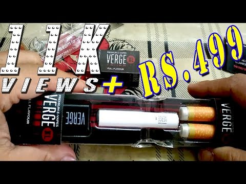 Verge XL Vape Full Flavor Unboxing & Review 2018 (Hindi)►(MultiVerse Studio) ►e-cig review 2018