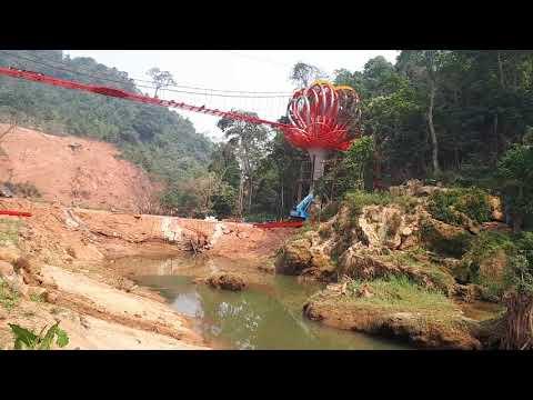 Cầu kính 5D Mộc Châu và khu du lịch thác Dải Yếm