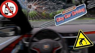 City Car Driving 1.5.5 - Alkollü Araba kullanma (KAZA ANI!)