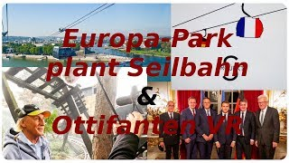Europa-Park plant Seilbahn! & Ottifanten VR beim Alpenexpress! |Europa-Park-News