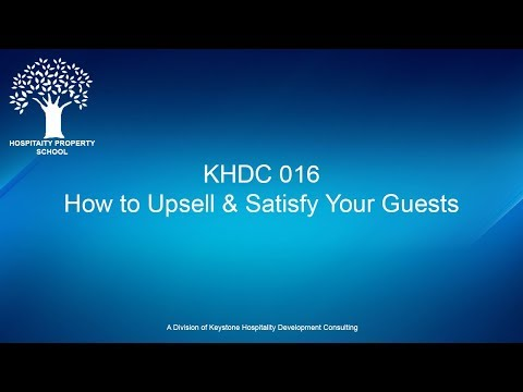 How to Upsell That and Satisfy Your Guests | Ep. #016
