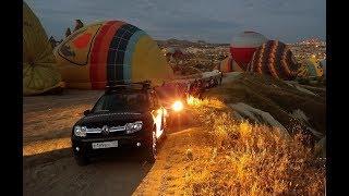 Полет на воздушном шаре над Турцией