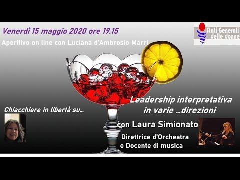 15/05/2020 Aperitivo con... Laura Simionato - #StatiGeneraliDelleDonne