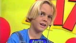1997- Aaron Carter- live on heart attack