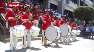 اغاني حصرية فرقة الموسيقى العسكرية تعزف أغانى وطنية أمام محافظة الإسماعيلية تحميل MP3