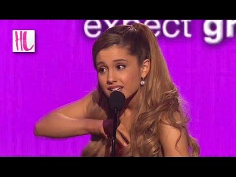 official photos 673aa 3aaf2 Ariana Grande American Music Awards Wardrobe Malfunction ...