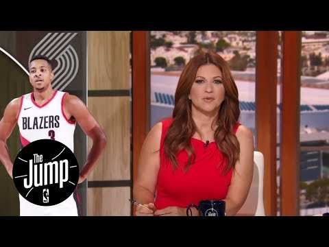 C.J. McCollum's suspension shows inconsistency in NBA rules | The Jump | ESPN