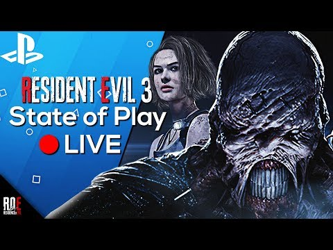 RESIDENT EVIL 3: REMAKE || REVEAL | PlayStation State of Play 🔴LIVE