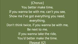 702 Make Time+Lyrics
