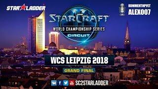 2018 WCS Leipzig - Final: SHoWTimE (P) vs Serral (Z)