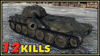 IS-M - 12 Kills - 1 vs 5 - World of Tanks Gameplay