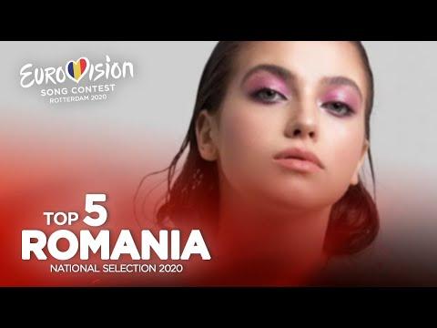 🇷🇴: Eurovision 2020 - Selecția Națională 2020 - Top 5