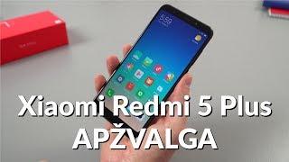 Xiaomi Redmi 5 Plus apžvalga - Varle.lt   Kholo.pk