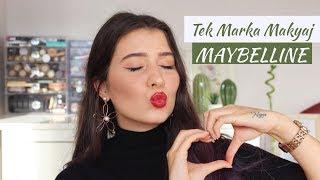 Tek Marka Makyaj; Maybelline   Bu Nasıl Bir Aydınlatıcı!? 🤯