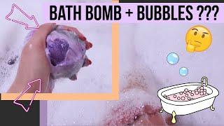 Biggest Bubble Bath Bomb