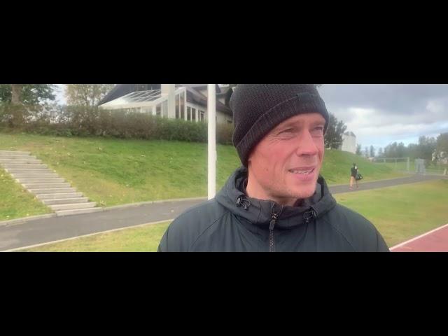 Andri Hjörvar: Brekkan varð bara brattari